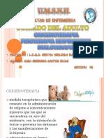 oxigenoterapia, FTR, inhaloterapia