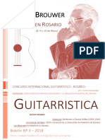 Boletín N° 3 de la Asociación Guitarrística de Rosario