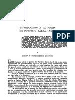 Introducción a La Poesía de Barba Jacob, Germán Posada