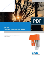 Particulate Measurement in Wet Gas