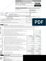 Waterbury PAL 2008 Tax Report