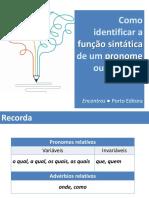 ENC Funcao Sintatica Pronome