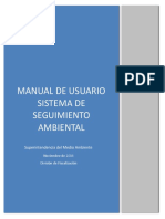 Manual usuario sistema seguimiento ambiental (Chile)