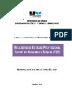 Rosinelda David 2016. Relatório de Estágio Profissional (F&B).pdf