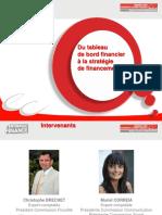 Du Tableau de Bord a La Strategie de Financement1