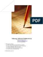 Pathology MCQs