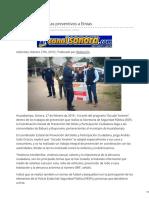27-02-2019 - Lleva SSP Programas Preventivos a Etnias - Canalsonora.com