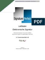 Leitfaden Elektronische Signatur-data