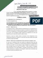 Proyecto de ley N° 3962-2018- obligaciones de los colaboradores eficaces