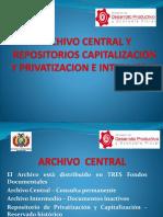 Presentacion Del Archivo Dentral y Capitalizacion