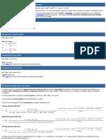 Fórmulas Para La Resolución de Ecuaciones Polinómicas