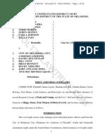 Daniel Holtzclaw  - Federal Lawsuit - 5-16-Cv-00184 Revised - 3/4/2016