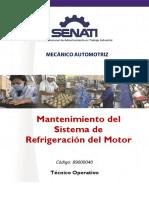 89000040 Mantenimiento Al Sistema de Refrigeración Del Motor