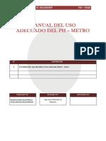 2-Manual Del Uso Adecuado Del Phmetro