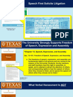 University of Texas-Austin presentation in federal court against Speech First lawsuit