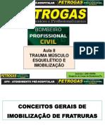 Aula 8 - Atendimento Pré-Hospitalar 0-Trauma Músculo Esquelético e Imobilização - 87 Slides