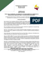 Decreto N° 069 de 2015