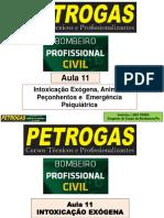 AULA 11 - INTOXICAÇÃO E ANIMAIS PEÇONHETOS - LINO - 80 SLIDES.pdf