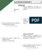 NM Sem 5 Ses01 SEP Cónicas 1_La Circunferencia y La Parabola