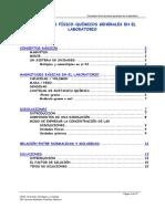 1. Conceptos Físico-químicos Generales en El Laboratorio