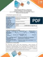 Administracion Publica Planeación Del Desarrollo