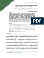 ARTIGO _ Trab e Educ # Elementos Para Pensar a Fomentação Do Precariado Juvenil No Brasil Do Sec XXI
