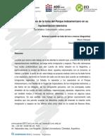 Vázquez, Mauro - Tramas espaciales de la toma del Parque Indoamericano en su representaci{on mediatica