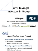 Returns to Angel Investors in Groups