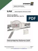 Manual Detector Metais