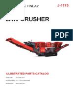J-1175 Illustrated Parts Catalog - Mastercopy - From Serial No Trx1175jcomd56948