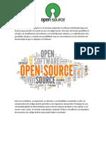 1. Open Source - Resumen