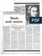 Willy Corrês de Oliveira - Bach está morto