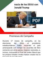La Diplomacia de Los EEUU Con Donald Trump