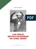 Alex Callinicos -  Las Ideas Revolucionarias de Karl Marx