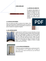 Tipos de Lapices Para Dibujar