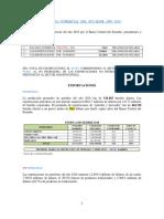 Balanza Comercial de Ecuador Enero a Diciembre Año 2018