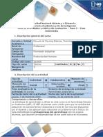 Guía de Actividades y Rúbrica de Evaluación - Paso 2 - Fase Intermedia
