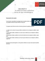 Clase a Clase N° 12 - Tipos de análisis de datos cualitativos y criterios de rigor metodológicos