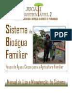 Manual Manutenção do Bioágua