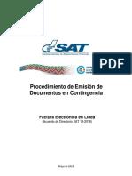 FEL Procedimiento Emision de Documentos en Contingencia