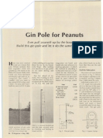 Gin Pole for Peanuts