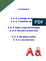 Canciones de Vocales