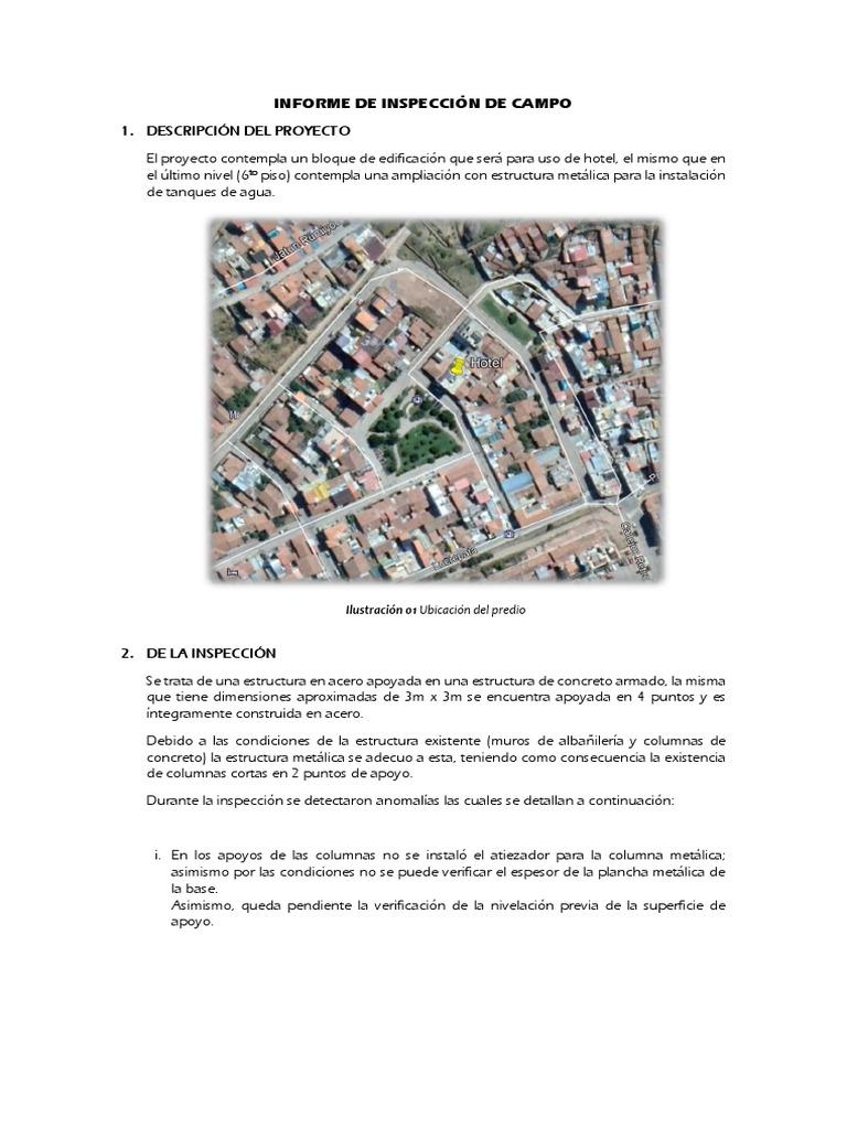 Informe Est Metálica Acero Hormigón