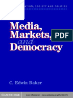 Baker, C. E. Media, Markets, and Democracy.pdf