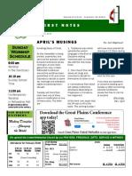 0319 Newsletter