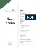 Portada Historias de Vampiros