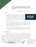 Resolución de la Comisión de Ética