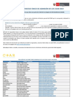 Resultados 2da Fase de Evaluacion ADMISION COAR 2019 INOHA