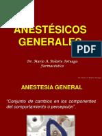 4.Anestésicos Generales y Locales