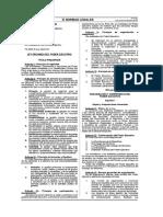 Ley N 29158 Ley Organica Del Poder Ejecutivo